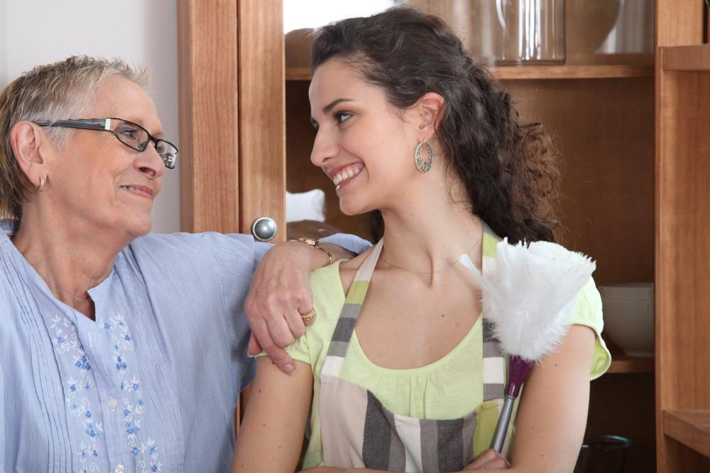 taking care of an aging parent