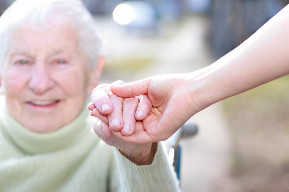 caregiver for aging parents