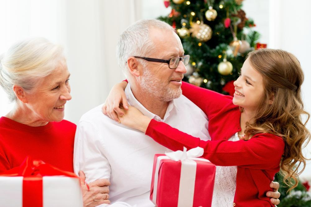 aging parents for holidays